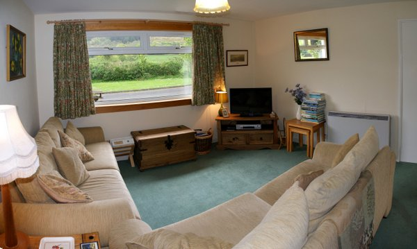 Large Lounge at Hill View self catering, Shiskine, Siel of Arran